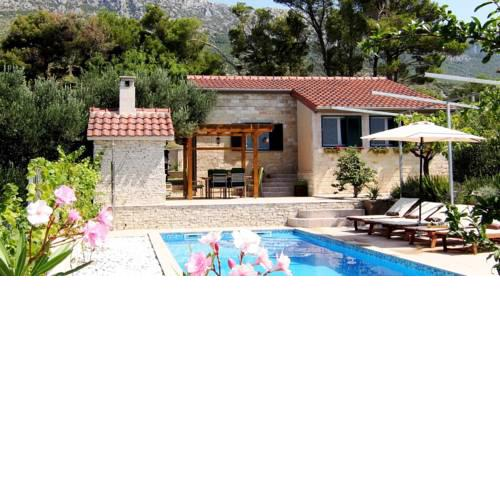 Villa Antea with Pool and Sea View